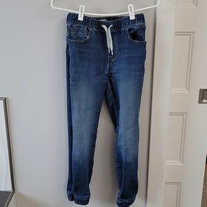 Boys old navy jogger jeans.  Size large (10-12)